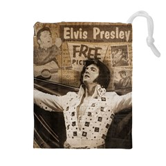 Vintage Elvis Presley Drawstring Pouches (extra Large)