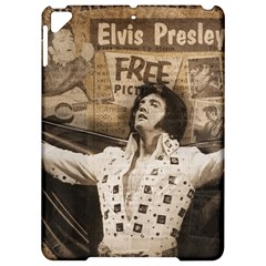 Vintage Elvis Presley Apple Ipad Pro 9 7   Hardshell Case
