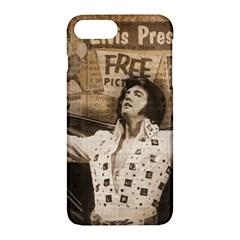 Vintage Elvis Presley Apple Iphone 7 Plus Hardshell Case