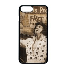 Vintage Elvis Presley Apple Iphone 7 Plus Seamless Case (black)
