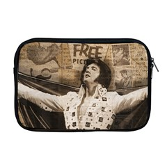 Vintage Elvis Presley Apple Macbook Pro 17  Zipper Case