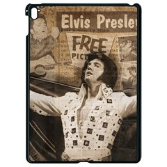 Vintage Elvis Presley Apple Ipad Pro 9 7   Black Seamless Case