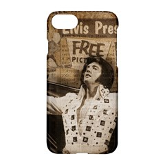 Vintage Elvis Presley Apple Iphone 8 Hardshell Case