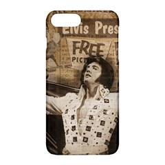 Vintage Elvis Presley Apple Iphone 8 Plus Hardshell Case