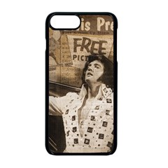 Vintage Elvis Presley Apple Iphone 8 Plus Seamless Case (black)