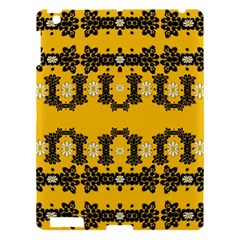 Ornate Circulate Is Festive In Flower Decorative Apple Ipad 3/4 Hardshell Case