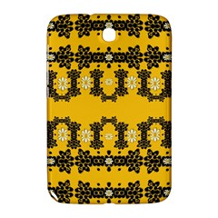 Ornate Circulate Is Festive In Flower Decorative Samsung Galaxy Note 8 0 N5100 Hardshell Case