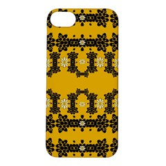 Ornate Circulate Is Festive In Flower Decorative Apple Iphone 5s/ Se Hardshell Case