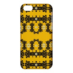 Ornate Circulate Is Festive In Flower Decorative Apple Iphone 5c Hardshell Case