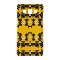 Ornate Circulate Is Festive In Flower Decorative Samsung Galaxy A5 Hardshell Case