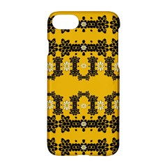 Ornate Circulate Is Festive In Flower Decorative Apple Iphone 7 Hardshell Case