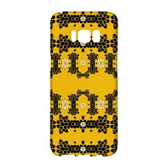 Ornate Circulate Is Festive In Flower Decorative Samsung Galaxy S8 Hardshell Case