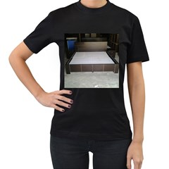 20141205 104057 20140802 110044 Women s T Shirt (black) (two Sided)