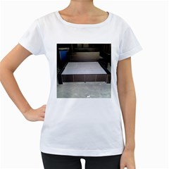20141205 104057 20140802 110044 Women s Loose Fit T Shirt (white)