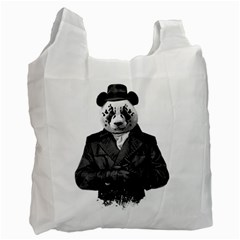 Rorschach Panda Recycle Bag (one Side)