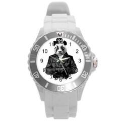 Rorschach Panda Round Plastic Sport Watch (l)