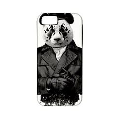 Rorschach Panda Apple Iphone 5 Classic Hardshell Case (pc+silicone)