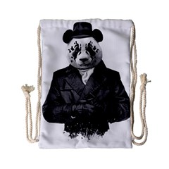 Rorschach Panda Drawstring Bag (small)