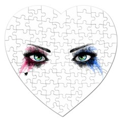 Look Of Madness Jigsaw Puzzle (heart)