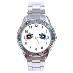 Look Of Madness Stainless Steel Analogue Watch