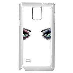 Look Of Madness Samsung Galaxy Note 4 Case (white)