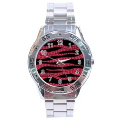 Blood Tentacles Stainless Steel Analogue Watch