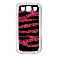 Blood Tentacles Samsung Galaxy S3 Back Case (white)