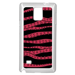 Blood Tentacles Samsung Galaxy Note 4 Case (white)