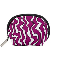 Electric Pink Polynoise Accessory Pouches (small)