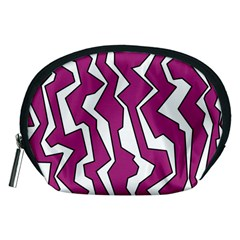 Electric Pink Polynoise Accessory Pouches (medium)