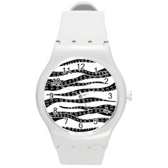Hand Made Tentacle Round Plastic Sport Watch (m)