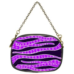 Purple Tentacles Chain Purses (one Side)