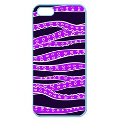 Purple Tentacles Apple Seamless Iphone 5 Case (color)