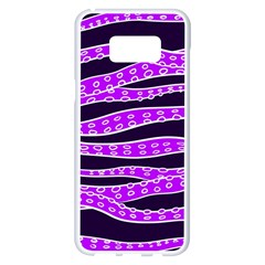Purple Tentacles Samsung Galaxy S8 Plus White Seamless Case