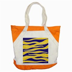Yellow Tentacles Accent Tote Bag