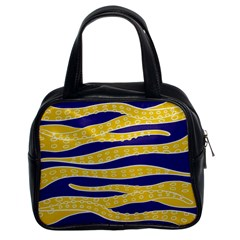 Yellow Tentacles Classic Handbags (2 Sides)