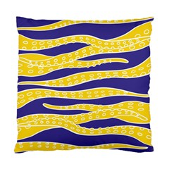 Yellow Tentacles Standard Cushion Case (two Sides)