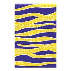 Yellow Tentacles Shower Curtain 48  X 72  (small)
