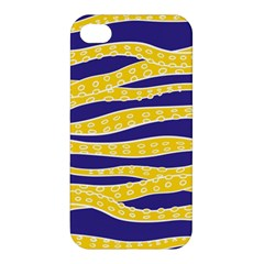 Yellow Tentacles Apple Iphone 4/4s Hardshell Case