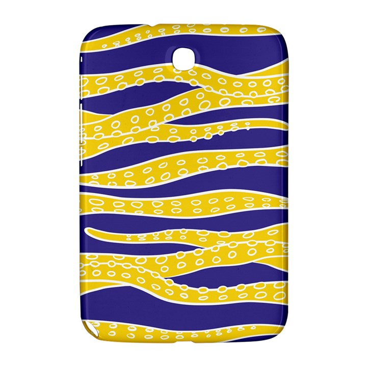 Yellow Tentacles Samsung Galaxy Note 8.0 N5100 Hardshell Case