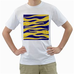 Yellow Tentacles Men s T Shirt (white)