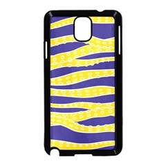 Yellow Tentacles Samsung Galaxy Note 3 Neo Hardshell Case (black)