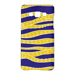 Yellow Tentacles Samsung Galaxy A5 Hardshell Case