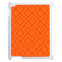 Seamless Pattern Design Tiling Apple Ipad 2 Case (white)