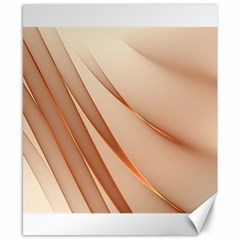 Background Light Glow Abstract Art Canvas 8  X 10