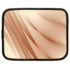 Background Light Glow Abstract Art Netbook Case (large)