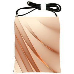 Background Light Glow Abstract Art Shoulder Sling Bags