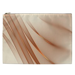 Background Light Glow Abstract Art Cosmetic Bag (xxl)