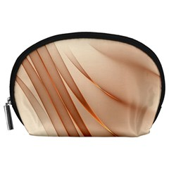 Background Light Glow Abstract Art Accessory Pouches (large)