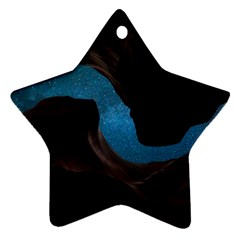 Abstract Adult Art Blur Color Star Ornament (two Sides)